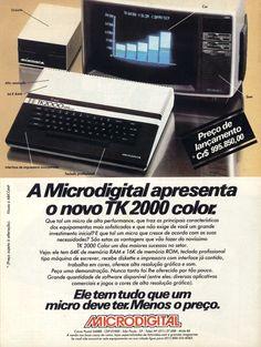 Brazilian Microdigital TK-2000, an Apple 2 / Plus clone of early 80's