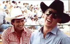 Lane Frost and Tuff Hedeman