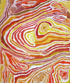 Elizabeth Nyumi - Parwalla - 2012 - 180x150cm  IDAIA - International Development for Australian Indigenous Art