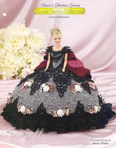Chrysanthemum, Annie's Glorious Gowns Flower Garden Collection crochet patterns