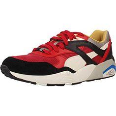 new style 7ca0b 29539 Puma Herren R698 Flag Sneaker  Amazon.de  Schuhe   Handtaschen