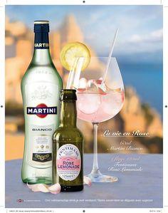 Martini Bianco - Fentimans Rose Lemonade