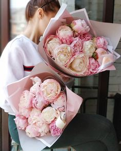 Flowers To Go, Peonies, Bouquets, Shabby, Plant, Rose, Amazing, Beauty, Flowers