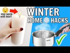 Winter Home Hacks Everyone Should Know - YouTube