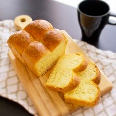 A rich and buttery brioche loaf that is great for breakfast.