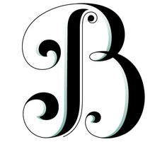 A hand-crafted decorative initial cap by Jessica Hische