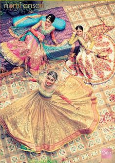 Colourful 2014 #Desi wedding collection by @NomiAnsari #Pakistan http://NomiAnsari.com.pk/ via @ShazasScrapbook