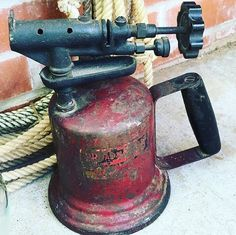 Independent Collectible Blowtorches Book Vintage Brass And Bronze Blowtorch Bernz Turner Tools, Hardware & Locks Collectibles