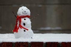 Snowman-- so cute!