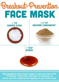 9 best DIY face masks for blackheads to get beautiful skinHow to get rid of blackheads naturally overnight? 9 Fast, easy and quick homemade DIY face masks to lighten the skin! Baking With Honey, Honey And Cinnamon, Cinnamon Honey Face Mask, Diy Skin Care, Skin Care Tips, Skin Tips, Diy Peeling, Diy Pinterest, Beauty Hacks For Teens