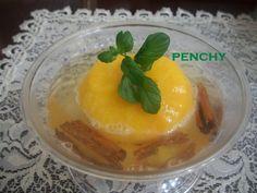 #Melocotones con Cava a la canela. Ver receta: http://www.mis-recetas.org/recetas/show/43598-melocotones-con-cava-a-la-canela #postres