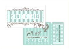 Lovely branding - Cirque Du Bebe