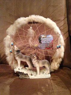 Wolf Dream Catcher | eBay