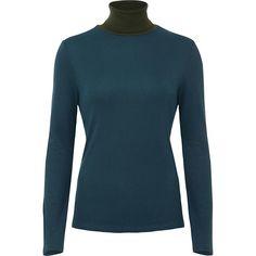 Women's Ribbed High Neck Long Sleeve T-Shirt | UNIQLO
