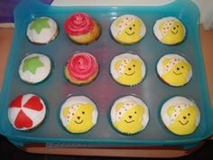 Yummy Pudsey bear cakes!