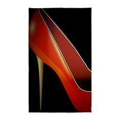 high heel Area Rug on CafePress.com