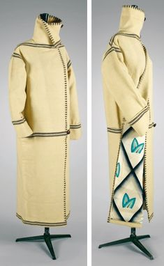 Paul Poiret, cirka 1920 Wool coat, from the collection of Denise Poiret