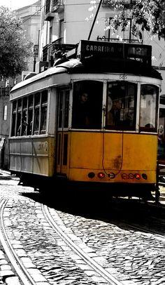 Photo Gratuite: Tram, Lisbonne, Portugal, Rue - Image gratuite sur Pixabay - 535946