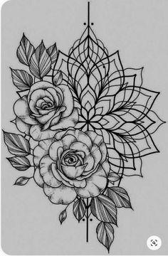 Deurschildering x – foot tattoos for women flowers Side Tattoos Women, Foot Tattoos For Women, Flower Tattoo Foot, Flower Tattoo Designs, Mandala Flower Tattoos, Tattoo Floral, Mandala Tattoo Design, Mandala Drawing, Body Art Tattoos