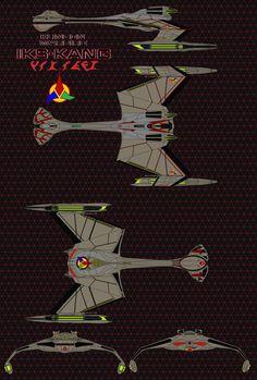 Klingon Warbird Kang Class Battle Cruiser by on DeviantArt Star Trek Crew, New Star Trek, Star Trek Beyond, Star Wars, Klingon Empire, Star Trek Klingon, Star Trek Starships, Trek Deck, Stark Trek