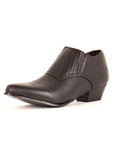 Women's Western Shoe Boots - Black  Wow -hello old friend- I owned a pair in the 80's... They were Guess... I wore them out