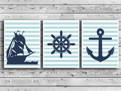 Love this wood color! Pirate Nursery, Ocean Themed Nursery, Nautical Nursery, Nautical Baby, Nursery Themes, Nautical Theme, Pirate Bathroom, Nautical Marine, Poster Prints