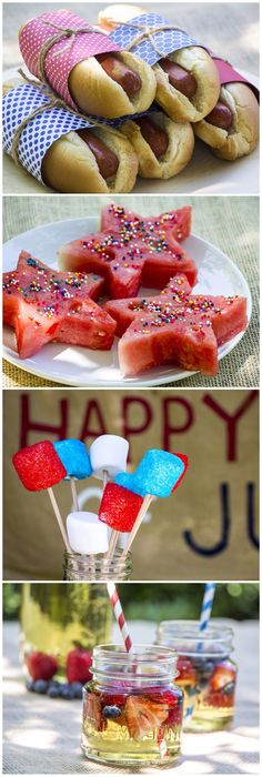 4 great 4th of July party snacks!