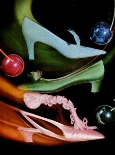 Audrey Hepburns Shoes, by Roger Vivier, 1965