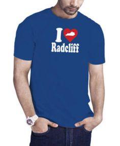 I Love Radcliff Kentucky Blue