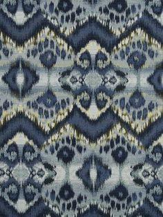 Robert Allen fabric Rhythm Waves in Calypso Blue