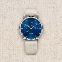 Introducing Baume: The Latest Entry-Level Watch Brand From Richemont Watch Releases Latest Watches, Watches For Men, French Signs, Tomorrow Will Be Better, Entry Level, Watch Brands, Omega Watch, Accessories, Top Mens Watches