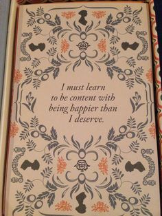 Jane Austen, Pride and Prejudice #FavoriteAustenMoment #DearMrKnightley