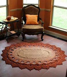 Oval Rugs, Row By Row, Crochet Home Decor, Ravelry, Notes, Watch, Knitting, Youtube, Projects