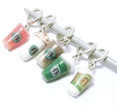 Cofanetto Starbucks Stitch Markers - Awesome!!!!