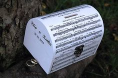 Svadobná pokladnička - noty