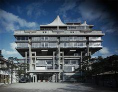 wandrlust:  Hotel Tokoen, 1964, Tottori, Japan — Kiyonori Kikutake