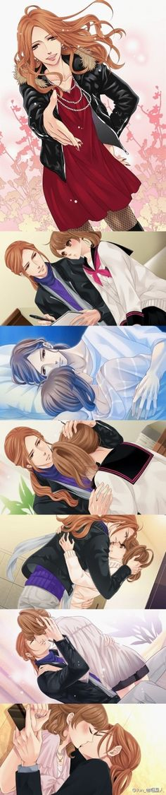 Brothers conflict: Hikaru and Ema - I like the last one.