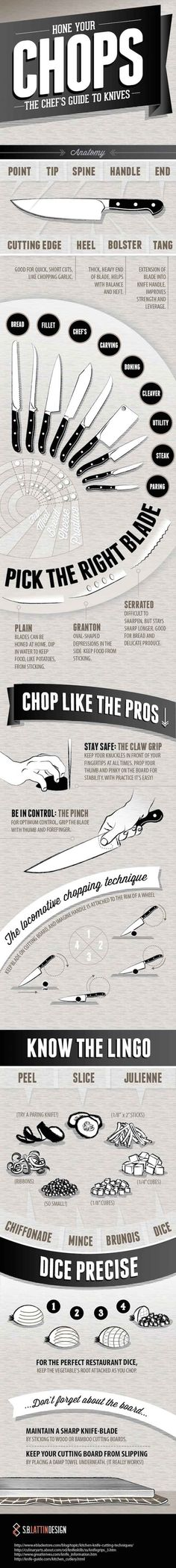 For knife skills.