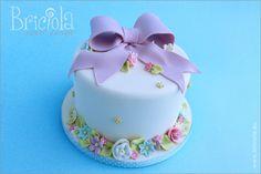torta primaverile fiori