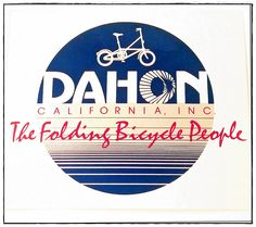 80s logo - The Folding Bicycle People, via Flickr.
