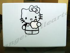 "Hello Kitty Apple MacBook 13"" Laptop Decal Sticker Skin | eBay"