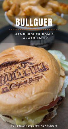 Que tal comer um hambúrguer bom e barato em SP? Fomos conhecer a Bullguer e aprovamos! Saiba como foi a nossa experiência.