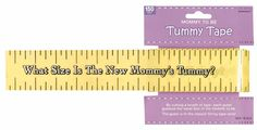 Tummy Measure Game   $5.99  150x2 inch Tummy Measure Tape
