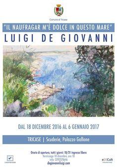 """Lecce: """"e il naufragaLe marine salentine di Luigi De Giovanni a Tricase-img"""