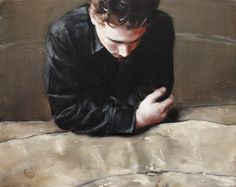 Michaël Borremans, The Painting, 2006, 40 x 50 cm, oil on canvas
