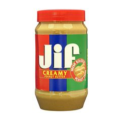 Jif Peanut Butter. Every school lunch, with honey! (And not when I was a kid... now, while I am subbing!)