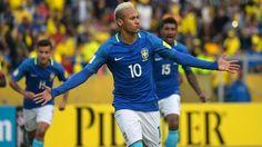 Brasil vence de visitante a Ecuador con gol de Neymar y doblete de Gabriel Jesús…