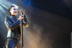 Tilo Wolff of Lacrimosa, live in Leipzig, Germany. Photo by Kalliope Tsouroupidou @ All Rights Reserved