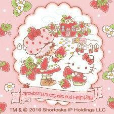 Strawberry Shortcake and Hello Kitty
