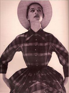 Claire McCardell. American designer. 1905-1958. Known for American sportswear.